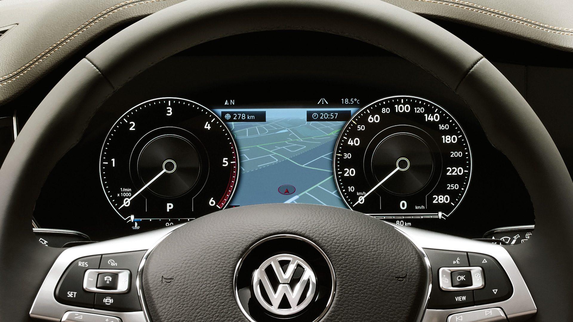Инновационная приборная панель Digital Cockpit