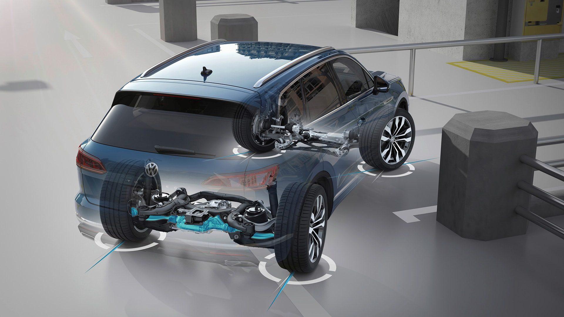 Подвеска Плюс Volkswagen Touareg